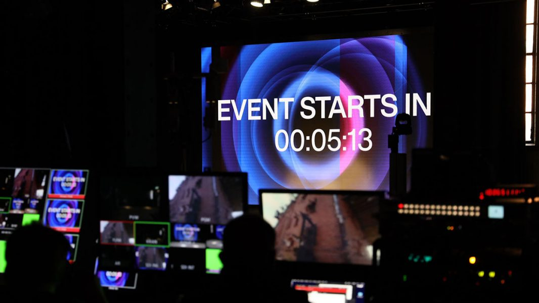 Streaming Event in Berlin